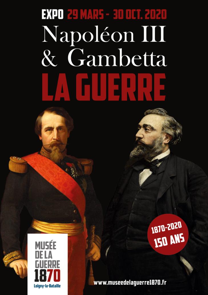 Affiche Musée de la guerre 1870 - Expo 2020 2